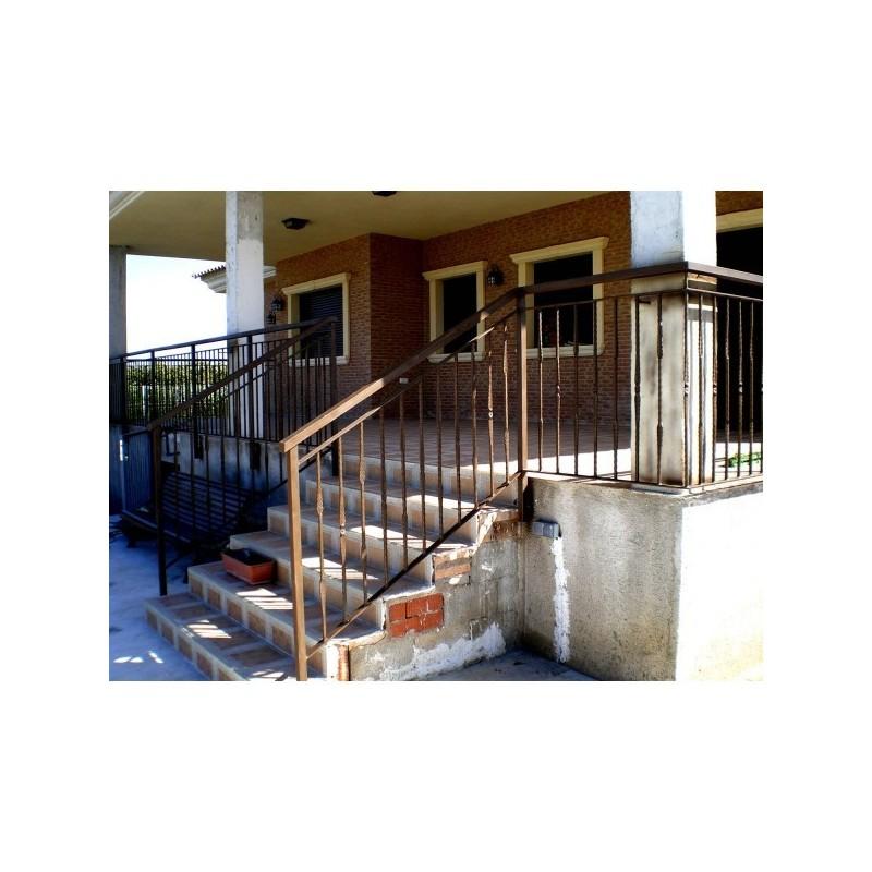 Barandillas de hierro forjado seguridad escalera clsica - Barandillas de seguridad para escaleras ...